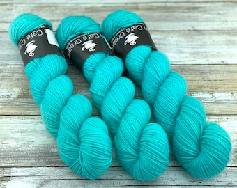 DK Weight | 100% SW Merino Wool | Sugar Quills | Hand Dyed Yarn | Superwash wool