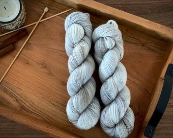 Nettle | Non-Superwash Merino Wool | One Ply Fingering Weight | Hand Dyed Yarn