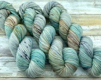 DK Weight | 100% SW Merino Wool | Aloe Vera | Hand Dyed Yarn | Superwash wool
