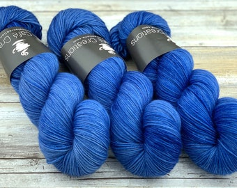 85/15 SW Merino/Wool Sock Weight| Twilight | Hand Dyed Yarn | Superwash wool