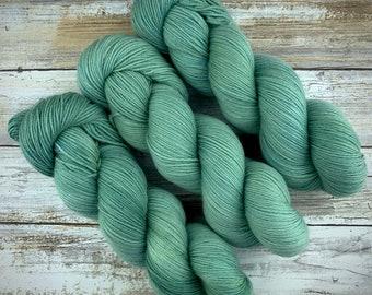 Lagoon | Non-Superwash Merino Wool | Hand-Dyed Yarn | Fingering Weight