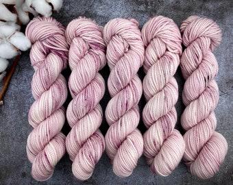 Aran Weight  | Ballerina | Hand Dyed Yarn | Superwash Merino Wool