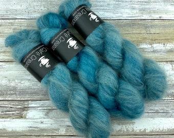 Succulent | Mohair Silk | Hand Dyed Yarn
