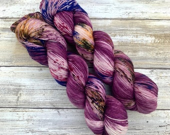 Let The Right One In | Halloween Horror Collection | Hand Dyed Yarn
