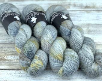 Nest | Non-Superwash Merino Wool | One Ply Fingering Weight | Hand Dyed Yarn