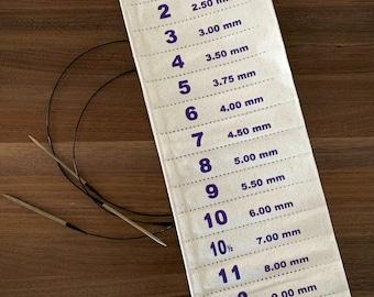 Hanging Circular Needle Holder | The Circular Solution | Knitting Needle Holder