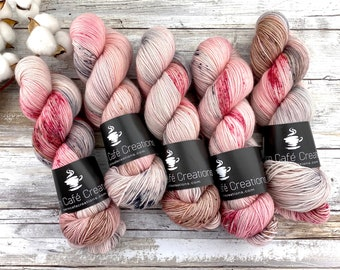 100% Merino SW Fingering Weight | Marry Me? | Hand Dyed Yarn | Superwash wool
