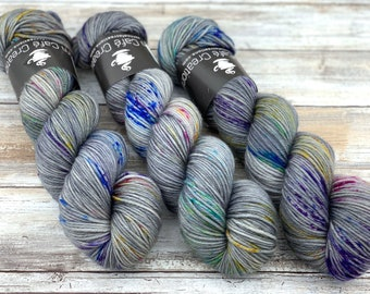DK Weight | 100% SW Merino Wool | Thestrals | Hand Dyed Yarn | Superwash wool