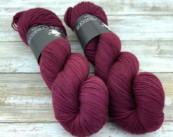 2-ply Fingering Weight | Jupiter | Hand Dyed Yarn | Superwash Merino Wool