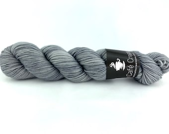 Hand-Dyed Yarn | Merino Wool | Earthy Collection | White Pepper