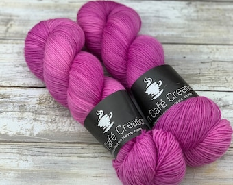 Hand-Dyed Yarn | Merino Wool | Orchid
