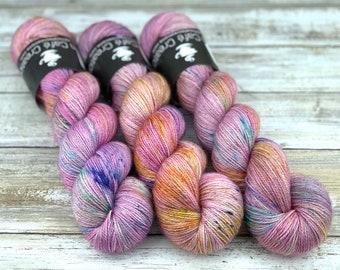 Bronze Stellina | Unicorn | Hand Dyed Yarn | Superwash wool