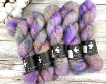 Huckleberry Pie | Mohair Silk | Hand Dyed Yarn