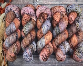 Polwarth DK Weight | 100% SW Polwarth Wool | Henna | Hand Dyed Yarn |