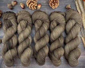 Veranda BFL DK Weight | 100% SW Blue-Faced Leicester Wool | Allspice | Hand Dyed Yarn | Superwash wool