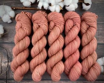 Americano DK Weight | 100% SW Merino Wool | Manicure | Hand Dyed Yarn | Superwash wool
