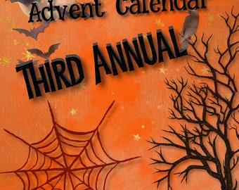 Halloween Horror Advent Calendar   Thirty One Days of Halloween Horror Mini Skeins
