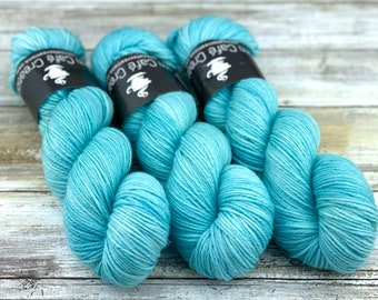 DK Weight Wool/Nylon Blend | Macaroon | Hand Dyed Yarn | Superwash Wool