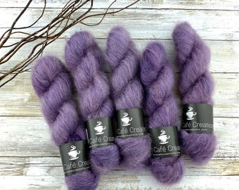 Sugarplum | Mohair Silk | Hand Dyed Yarn