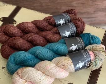 Hand-Dyed Yarn | Merino Wool | Navelli Kit Potting Soil