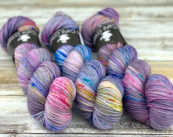 Worsted Weight | Pixie | Hand Dyed Yarn | Superwash wool