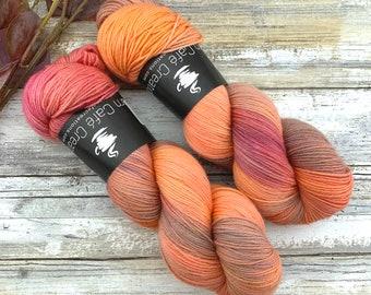 Mystic Topaz | Hand Dyed Yarn | Non-Superwash Merino Wool
