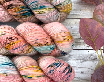 Smells Like Rain | Autumn Harvest Collection | Hand Dyed Yarn