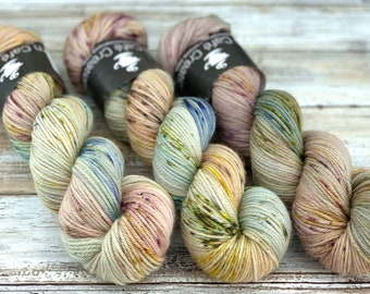 Worsted Weight | Orchard | Hand Dyed Yarn | Superwash wool