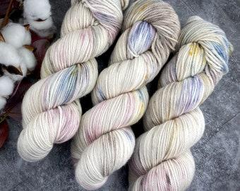 DK Weight | Dried Rose Petals | Non-Superwash Merino Wool | Hand-Dyed Yarn
