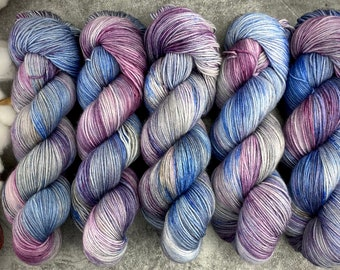 85/15 SW Merino/Nylon Fingering Weight | Constellation | Hand Dyed Yarn | Superwash wool