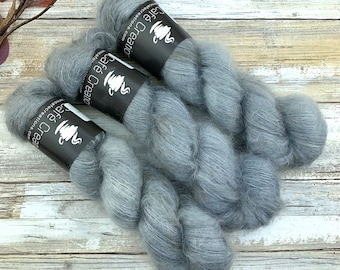 Atmosphere | Mohair Silk | Hand Dyed Yarn