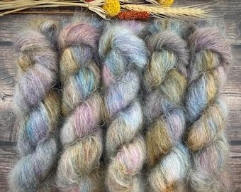 Boozy Hot Wassail | Mohair Silk | Hand Dyed Yarn