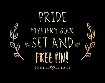 Mystery Sock Set and Free Pin | Fundraiser