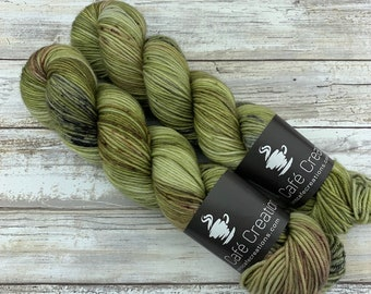 Hand-Dyed Yarn | Merino Wool | Earthy Collection | Underbrush