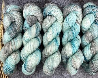 Americano DK Weight | 100% SW Merino Wool | Tipsy Shark | Hand Dyed Yarn | Superwash wool