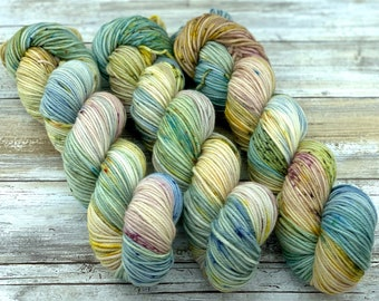 DK Weight | 100% SW Merino Wool | Orchard | Hand Dyed Yarn | Superwash wool