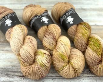 100% Merino SW Fingering Weight | Aspen | Hand Dyed Yarn | Superwash wool