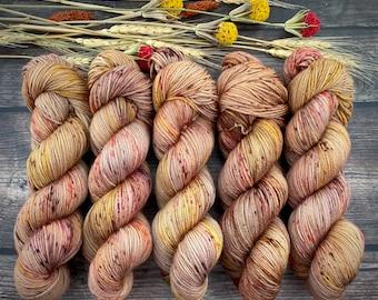 Sport Weight | 100% SW Merino Wool | Maple | Hand Dyed Yarn | Superwash wool