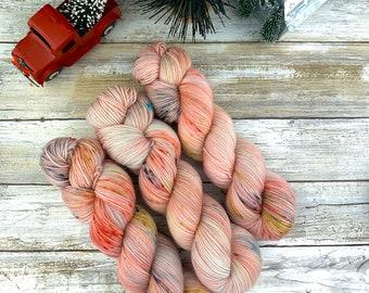 Christmas Candy | Hand-Dyed Yarn | Merino Wool