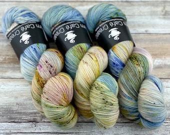 85/15 SW Merino/Wool Sock Weight| Orchard | Hand Dyed Yarn | Superwash wool
