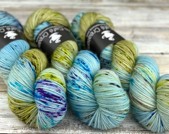 Worsted Weight | Sky Dancer | Hand Dyed Yarn | Superwash wool