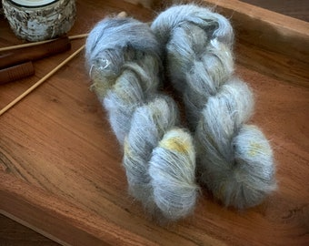 Nest | Mohair Silk | Hand Dyed Yarn