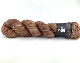 Hand-Dyed Yarn | Merino Wool | Sludge