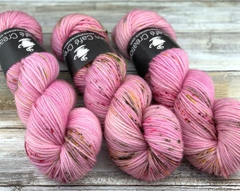 Worsted Weight | Faery Dust | Hand Dyed Yarn | Superwash wool