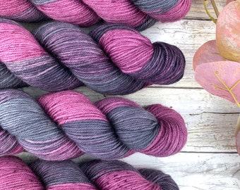 Pinot Noir | Hand Dyed Yarn | Superwash Merino Wool
