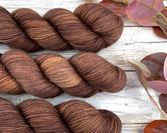 Potting Soil | Hand-Dyed Yarn | Merino Wool