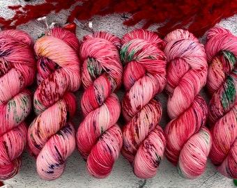 Americano DK Weight | 100% SW Merino Wool | Reindeer Corn | Hand Dyed Yarn | Superwash wool