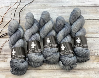 Polwarth Fingering Weight | Norman Bates | Hand Dyed Yarn | Superwash Polwarth