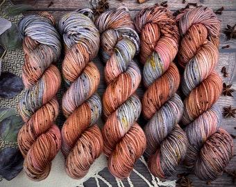 Americano DK Weight   100% SW Merino Wool   Henna   Hand Dyed Yarn   Superwash wool