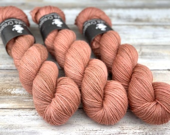 Silver Stellina | Manicure | Hand Dyed Yarn | Superwash wool